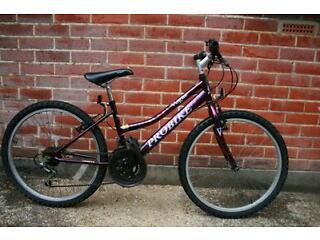 "Probike vogue girls bike/bicycle 24"" age 8-12 years"