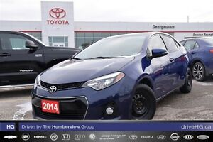 2014 Toyota Corolla Sport Tech pkg one owner.