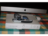 SKY BOX WITH REMOTE CONTROL AND POWER CABLE..