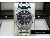 Audemars Piguet Royal Oak Slate Dial Stainless Steel