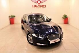 JAGUAR XF 2.2 D LUXURY 4d AUTO 163 BHP NO DEPOSIT NEED - DRI (blue) 2014
