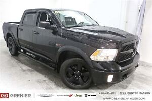 2014 Ram 1500 SLT Outdoorsman Diesel All Black