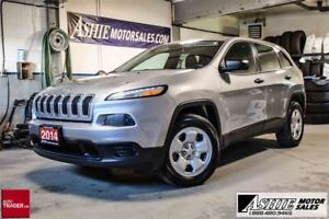 2014 Jeep Cherokee Sport 4x4! REMOTE START!