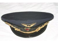 Genuine Vintage Soviet Transport Workers' Hat