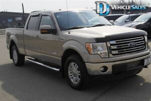 2013 Ford F-150 Lariat, Leather, 4x4, Nav