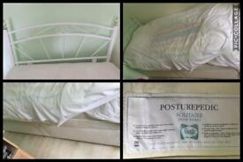 Single dovan bed with two draw and mattress