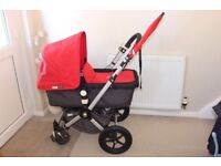 Bugaboo cameleon pram (carrycot and Seat)