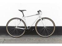 Road bike single speed perfect condition Charge plug S size