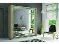 👌🔥 NEW STYLISH 2 AND 3 DOORS SLIDING WARDROBE WITH FULL MIRRORS, BOOK NOW!!