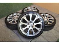"Genuine Honda 18"" Alloy wheels & Tyres 5x114.3 Accord Civic Type S R Altimo Epsilon"