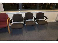 Comfy office chairs (4 available)