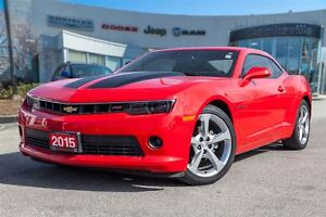 2015 Chevrolet Camaro LT 1LT, SUNROOF,  ONE OWNER TRADE