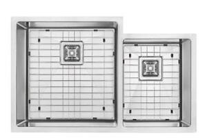 Undermount Sink | FREE GRIDS | Corner Undermount sink | 16 Gauge | Free Grids | PREMIUM GRADE ONLY