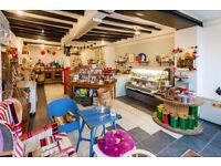 THRIVING DELICATESSEN in prime central position in an historic Oxfordshire market town FOR SALE