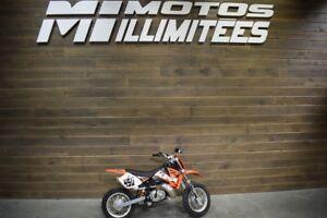 2008 KTM 50 SX Mini Liquidation hivernale 250 motos