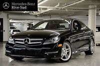 2013 Mercedes-Benz C350 Coupé, 4Matic, Toit Pano, GPS, Full