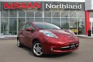 2012 Nissan LEAF SV/Navigation/Heated Seats/Back Up Cam