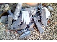 FREE TO COLLECT ,HARDCORE,ROOFING MORTAR BLOCKS.