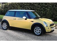 Two Private Keepers 02 Reg Mini Cooper In Super Order, New MOT (No Advisories), FSH & A Real Credit