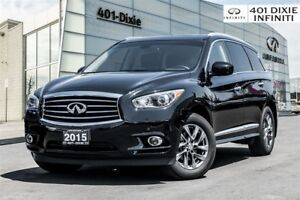 2015 Infiniti QX60 Premium + Driver's Assist Package! Navi!