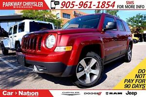 2016 Jeep Patriot HIGH ALTITUDE| 4X4| NAV| POWER SUNROOF| HTD SE