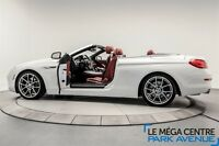 2012 BMW 650I CABRIOLET, INTERIEUR ROUGE, NAVIGATION,NIGHT VISIO