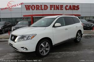 2013 Nissan Pathfinder Platinum | Nav | Rear camera | 7 passenge