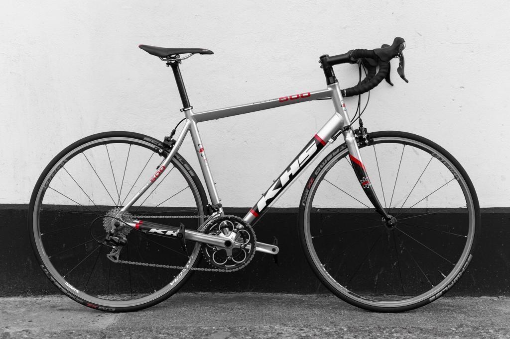 Khs road bike alu carbon frame ultegra wheels shimano 105 20 gears ...