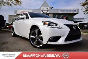 2014 Lexus IS 350 Luxury *Leather,Navigation,Blind spot warning,