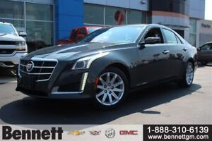 2014 Cadillac CTS 2.0L Turbo, AWD and Navigation