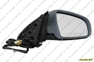 Door Mirror Power Passenger Side Heated Ptm Audi A4 2002-2005