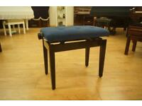 New piano stool. Adjustable