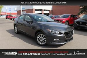 2015 Mazda MAZDA3 GS, HEATED SEATS, BACKUP CAMERA, BLUETOOTH