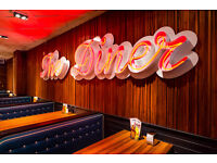 Head Chef wanted for The Diner! Immidiate start, Excellent pay and benefits!