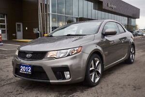 2012 Kia Forte New Tires - Leather - Roof - Accident Free!!!