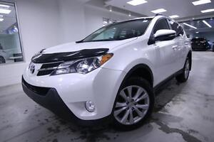 2013 Toyota RAV4 LIMITED, AWD, BACK UP CAMERA , ONE OWNER, NO AC