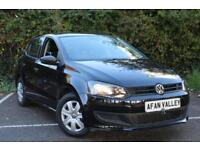 Volkswagen Polo S Ac 5dr **FINANCE AVALIBLE** (black) 2011