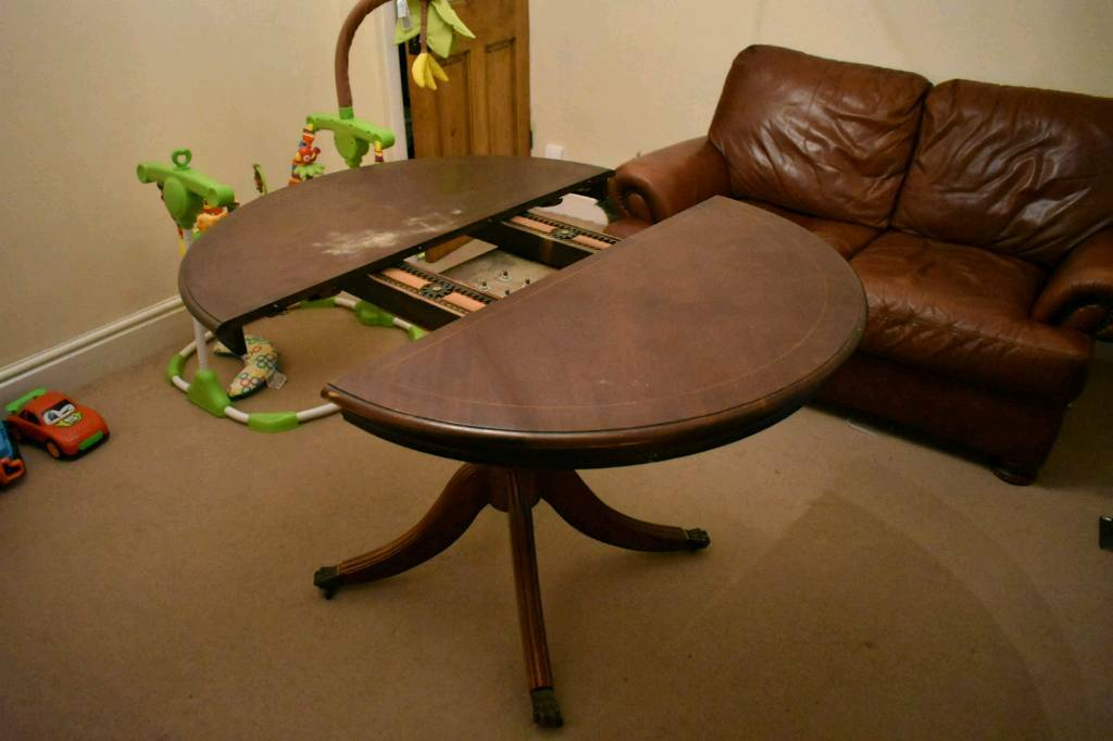 Extendable Dining Table With 4 Chairs In Warrington Cheshire Gumtree