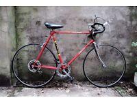 RALEIGH EUROPA, vintage racer racing road bike, 23.5 inch, 5 speed