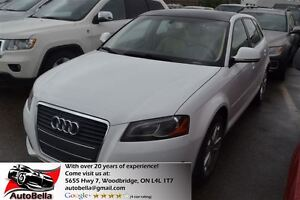 2009 Audi A3 2.0T Leather Panoramic Sunroof No Accident