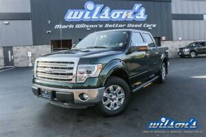 2013 Ford F-150 LARIAT CREW CAB 4WD! LEATHER! NAV! SUNROOF! RUNN