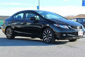 2014 Honda Civic Touring! LEATHER! NAV! 2 SETS OF TIRES!