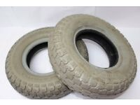 WANTED . FREE mobility scrap scooter tyres wanted for hobby