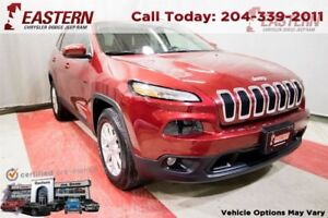 2016 Jeep Cherokee NORTH 4X4 SUNROOF HEATES SEATS WHL A/C CRUISE