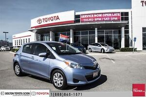 2012 Toyota Yaris 5 Dr LE Htbk 4A Perfect Back TO School CAR, ON