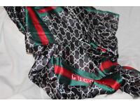 Gucci shawl scarf wrap 100% silk, amazing quality!