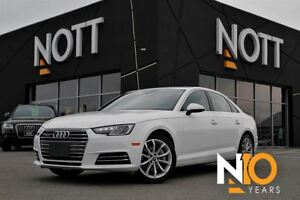 2017 Audi A4 Progressiv PKG AWD Navi MoonRoof