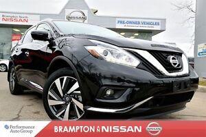 2016 Nissan Murano Platinum *Blind spot warning, Navigation, 360