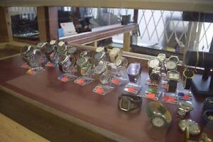 Excellent selection of new and gently used watches in stock now at Halifax Buy and Sell in Clayton Park!
