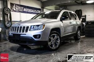 2011 Jeep Compass LIMITED! LEATHER! CHROME WHEELS!